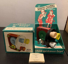 Vintage 1959 Archer Plastics Child Guidance Toys Movie Camera Super Cool!