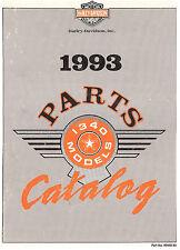 1993 HARLEY-DAVIDSON 1340 MODELS PARTS CATALOG MANUAL -FLT-FXR-SOFTAIL-DYNA