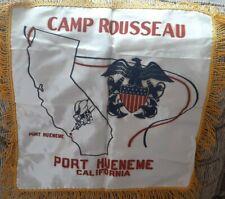 World War 2 Seabees Training Camp Rousseau, Port Hueneme Ca Pillow Sham