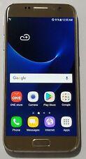 Samsung Galaxy S7 (KT) SM-G930K - 32GB - Gold (Korean Model) ScreenBurn #031TK