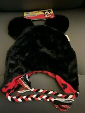 New with Tags NWT Disney Mickey Mouse Peruvian Beanie Laplander Hat