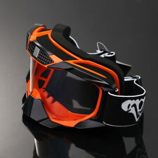 Motorcycle Ski Snowboard Goggles Clear Lens Frame Eyewear Glasses Dust/Windproof