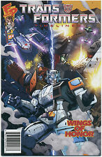 TRANSFORMERS TIMELINES #4; 2009 NM/MT Fun Publications WINGS OF HONOR
