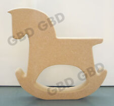 ROCKING HORSE SHAPE STRAIGHT BACK IN MDF (18mm thick)/WOODEN CRAFT SHAPE