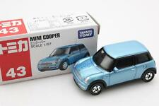 NEW Takara Tomica Tomy #43 MINI COOPER Blue Scale 1/57 Diecast Toy Car Japan