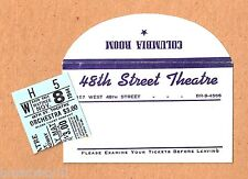 "Frank Fay ""HARVEY"" Josephine Hull / Mary Chase / Pulitzer Prize 1944 Ticket Stub"