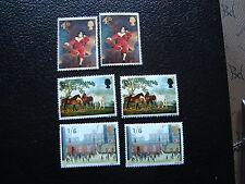 ROYAUME-UNI - timbre yt n° 491 a 493 x2 n** (A9) stamp united kingdom (D)
