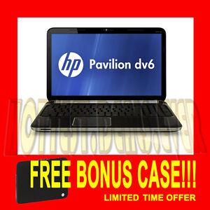 NEW 1 HP PAVILION DV6T LAPTOP i7-2670QM 8GB RAM 750GB HD 1GB GPU BLURAY Notebook