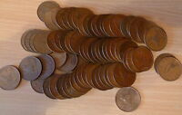 Circulated Irish Pre Decimal One Penny Coin Collection Various Years