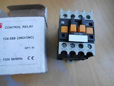RS CONTROL RELAY 134-588 (3NO / 1NC) a 110V 50 / 60HZ