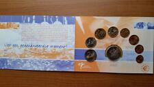 Divisionale Olanda Comm. Set 8 Monete 2003 In Folder FDC + Medaglia + Assegno