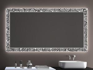 Badspiegel LD405 mit LED Beleuchtung Badezimmerspiegel Spiegel Wandspiegel Maß