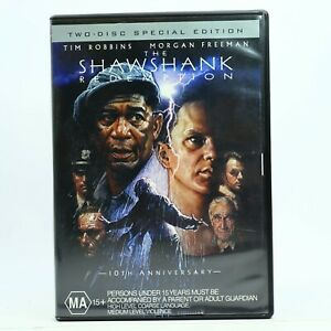 The Shawshank Redemption Tim Robbins DVD Good Condition Free Tracked Post