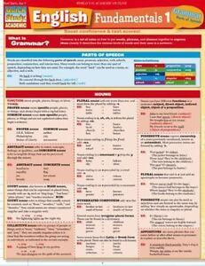 English Fundamentals 1: Grammar: Parts of Speech