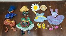 Muffy Vander Bear Clothing & Accessories Lot  Gypsy, Ballerina, Daisy and Genie