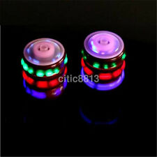 Magic Spinning Top Gyro Spinner Laser LED Music Flash Light Kids Toy Nice CA