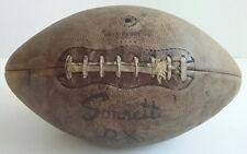 Sonnett Official NFL Leather Football Original Laces Model DX Vintage 1950's