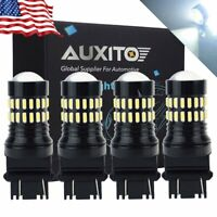 4X AUXITO 3057 3157 3156 4057 3457 LED Super White Signal DRL Parking Light Bulb