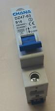 Leitungsschutzschalter DZ47-63 1P C10A, Sicherungsautomat MCB
