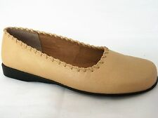 Unbranded Casual 100% Leather Upper Ballerinas for Women