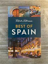 Rick Steves Best of Spain - Paperback By Steves, Rick - Like New