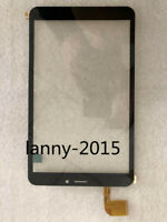 1PC For dxp2-0316-080b touch screen glass black