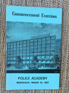 1967 New York City Police Academy Commencement Exercises