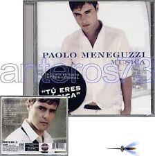 """PAOLO MENEGUZZI """"MUSICA"""" RARO CD IN SPAGNOLO - SEALED"""