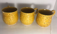 Pinheiro Bordallo Portugal Pottery Mug Lettuce Tobacco  Coffee Cup