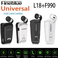 Fineblue L18 Wireless Bluetooth Headset Earphone For iPhone Samsung Universal EN