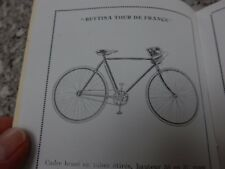 AMAZING SURVIVOR EARLY 1900s CYCLE MANUFACTURERS CATALOGUE  ideal gift potential