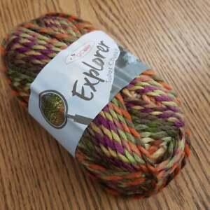 6 x 100g King Cole Explorer Super Chunky Acrylic/Wool Knitting Yarn, Livingstone