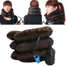 Adjustable Neck Stretcher Pain Relief Shoulder Tension Back Traction Inflatable