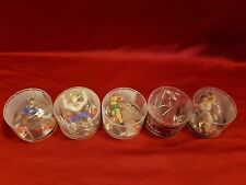 Street Fighter V Capcom Figure Collection Dydo Lot 5 Complete Set Figures Toys