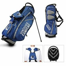 Brand New Team Golf Nhl Vancouver Canucks Fairway Stand Bag 15728