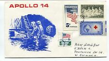 1971 Apollo 14 Man on the Moon West Germany Space Cover