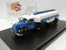 "NPE Showcars NA99017 # Borgward B 4500 Tanklastzug "" BV-ARAL "" blau-weiß 1:87"