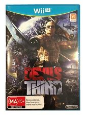 Devils Third For Nintendo Wii U Rare Action Shooting Fighting Game PAL Version