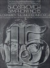 LP SHOSTAKOVICH -EUGENE ORMANDYsymphony no 15QUADRADISC EX+ 1972 US