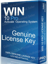 WIN 10 PRO KEY GENUINE LICENSE ORIGINAL ACTIVATION CODE 🚚 INSTANT DELIVERY ✅