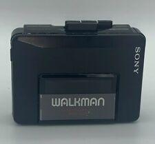 Vintage Sony Walkman Cassette Tape Player Wm-2011 Belt Clip