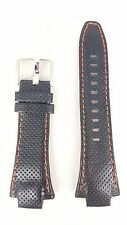 Original Seiko Z15 Sportura Watch Band SNL017P1 Black Red Strap 7L22-0AE0 SNL021