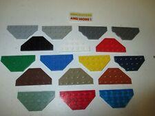 Lego - Plate Wedge Plaque 3x6 6x3 2419 - Choose Color & Quantity