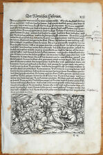 Livius History of Rome Post Incunable Woodcut Schoeffer (13) - 1530