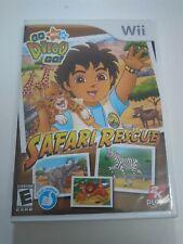 Go, Diego, Go Safari Rescue (Nintendo Wii, 2008) FREE SHIPPING