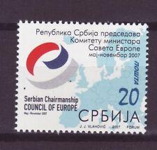 Serbien Nr.   198 ** Vorsitz Serbiens im Europarat