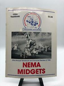 Northeastern Midget Association NEMA 1986 Annual Record and Pictorial Review