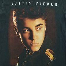 2012 - 2013 Justin Bieber Believe Tour Black Shirt Small Concert Official Merch