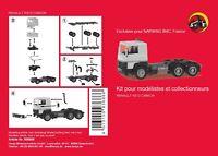 Renault R 310 Tracteur solo 6x4 (kit à monter) - Herpa - Echelle 1/87 (Ho)