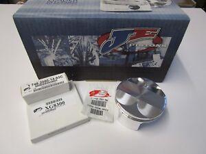 JE Piston Kit Kawasaki ER6 Hi Comp Piston Kit JE 308454 2 ring type